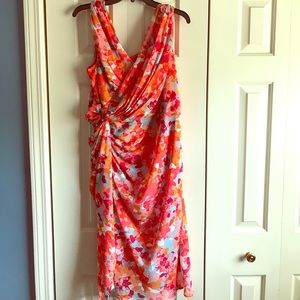 NWT Adrianna Papell Multicolored Dress