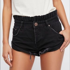 Brand new one teaspoon black bandit shorts
