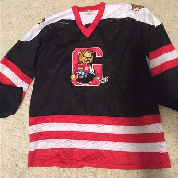 Vintage Garfield Hockey Jersey by Genus. Genus. M_5972393d36d594fa2a0a9872.  M_59723950c6c795b6cf0a7f0e. M_5972395c4e8d178d4e0991c4