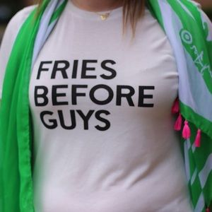 Tops - Fries Before Guys Graphic Tee