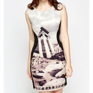 Dresses & Skirts - Mesh insert scuba dress. Size small. New