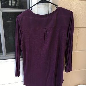 Calvin Klein Purple Shirt