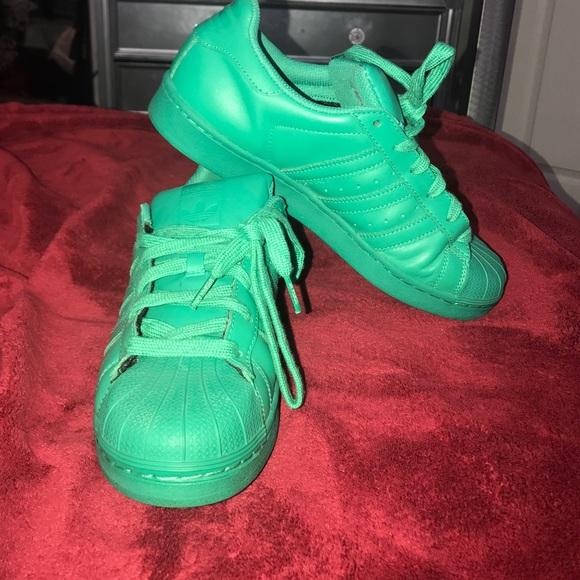 release date: 3e1c0 f4100 Pharrell x Adidas Superstar sneakers