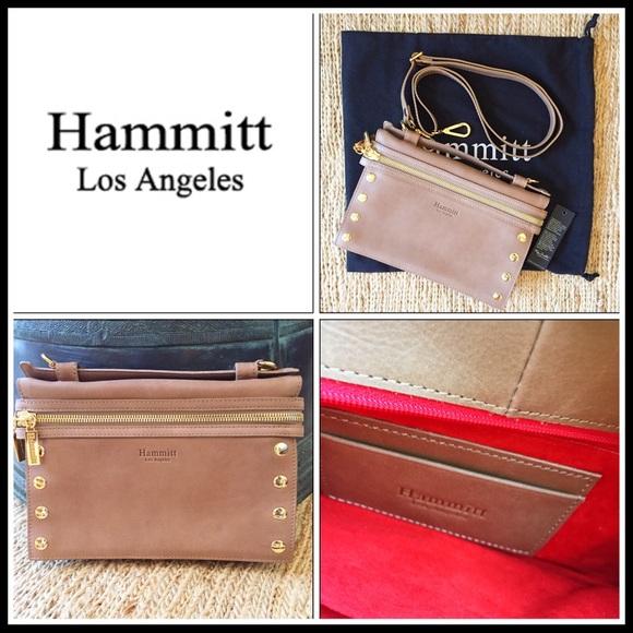 Hammit Gavin Handbag in Chamomile Leather. 9103276bd9d5d