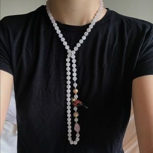 Jewelry - Handmade Japanese Beaded Bird Necklace