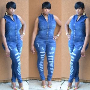 Denim - Denim Jumpsuit