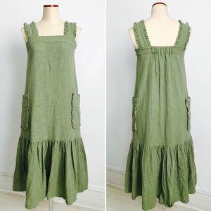 Dresses & Skirts - Vintage Linen Dress Size 6