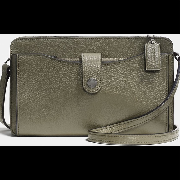 huge selection of 0c195 f6e03 italy coach wristlet pop up jacket b871a 24184