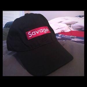 Other - Box Logo Savage Strapback