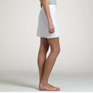 JCrew scallop skirt