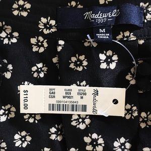 c80d4d400e3f21 Madewell Tops | Nwt Silk Memory Blouse In Stencil Blossom | Poshmark