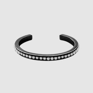 Lynn Ban PEARL CUFF NWOT Rhodium silver bracelet