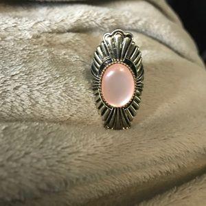 Jewelry - BRAND NEW!!! Gold ring with jewel size medium