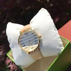 New Kate Spade Vachetta Metro Watch KSW1059
