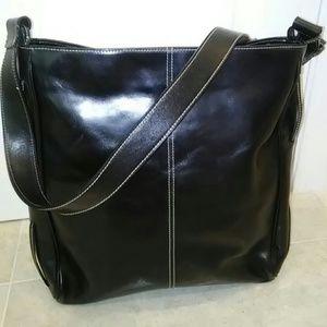 NWOT Men's or Women's Leather Messenger