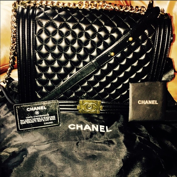 ce13cf9b2925 CHANEL Bags | Look 100 Lambskin Large Quilted Leboy Look Bag | Poshmark