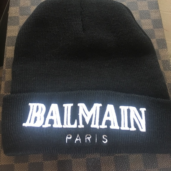 8752310f7b9 Balmain Accessories   Beanie Hat   Poshmark