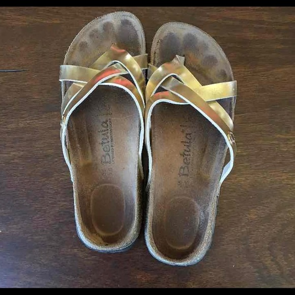 52% off Birkenstock Shoes - Gold colored betula ...