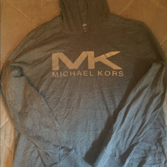35c200dd6bfce ... Michael Kors Men Gray Hoodie Glow in Dark size L ...