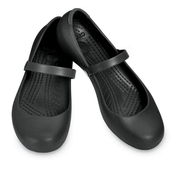 de0643e8e17 CROCS Shoes - CROCS Alice Work Mary Jane flats BLACK size 8