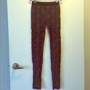 Pants - *UNAVAILABLE* Artsy Gray Leggings (Small)
