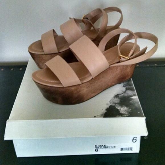 14ec69900 Elizabeth and James Shoes - Elizabeth and James Bax flatform sandals
