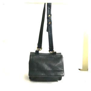 AMERICANA BY SHARIF leather crossbody bag