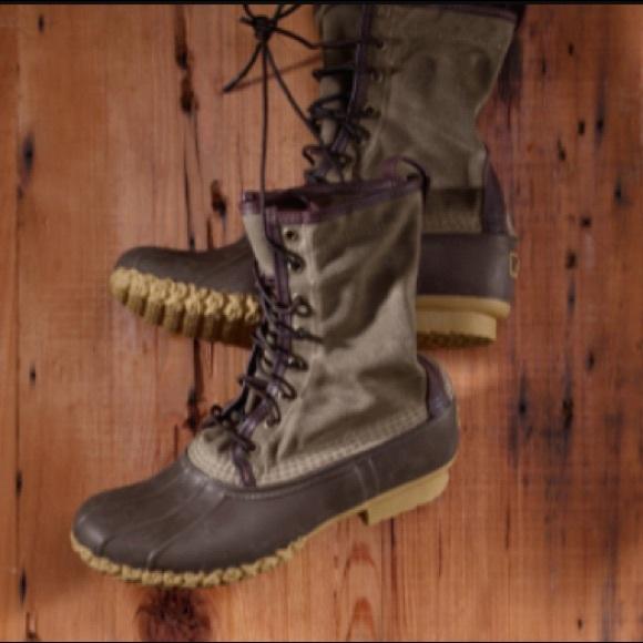 ab065bb6433 LLBean Signature Waxed-Canvas Maine Hunting Shoe