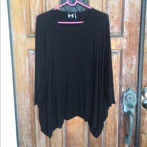 Nordstrom black sweater top