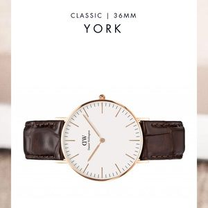 Daniel Wellington 36mm YORK Watch!