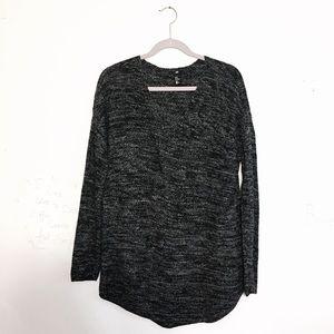 Oversized knit sweater dress