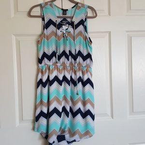 3 for $15 Chevron dress NWT