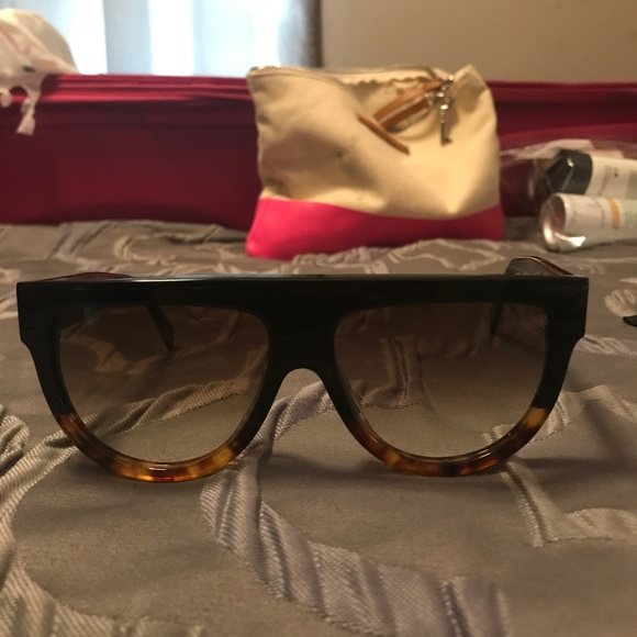 a6f59bf0c2b Celine Accessories - AUTHENTIC Celine shadow sunglasses 😎