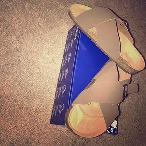 NEW Birkenstock Sandals, Brown