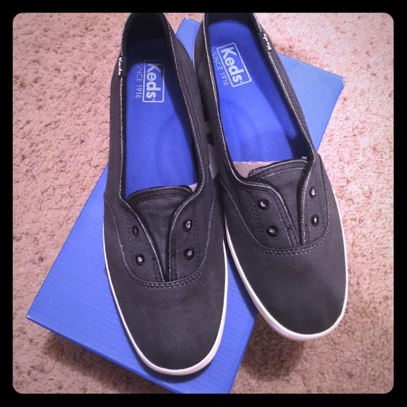 Keds Shoes   Keds Chillax Mini Black No