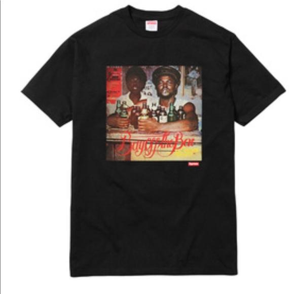 888cbc103c80 Supreme Shirts   Buy Off The Bar Shirt In Black   Poshmark