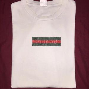 0d0ed88a5 Supreme Shirts | X Gucci Box Logo T Shirt | Poshmark