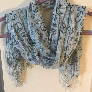 Accessories - Peace boho lightweight scarf