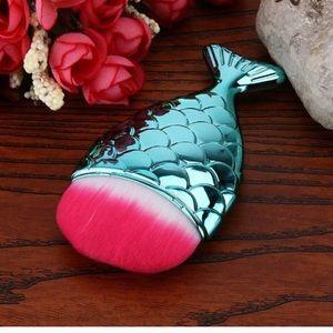 Other - Mermaid fishtail makeup powder brush