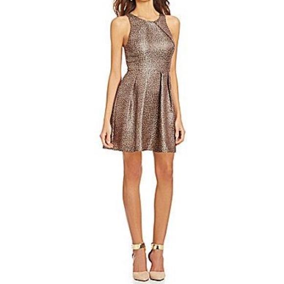 b261784df35 Gianni Bini Dresses   Skirts - Gianni Bini Jax Dot Jacquard ALine Dress