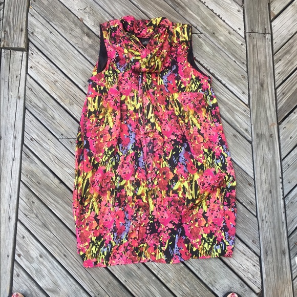 Lane Bryant Tops - Plus Size Sleeveless  top with lose ruffle.
