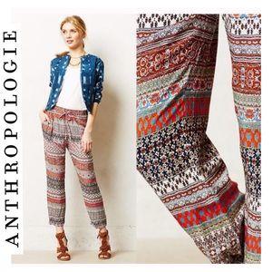 Anthropologie LILKA Fun pattern pants