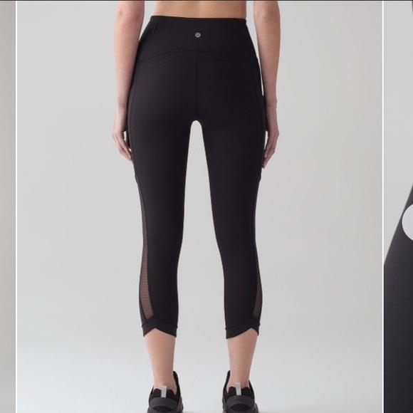 87ba7384b5 lululemon athletica Pants | Size 4 Lululemon Sole Training Crop Yoga ...