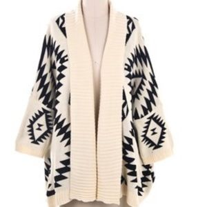 Forever 21 Tribal Cardigan