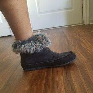 MADDEN GIRL finn style faux fur booties