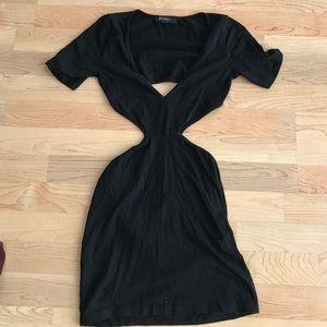 Cut out Bodycon Mini Dress