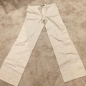 BNWT size 2 linen pants