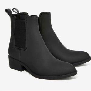 Jeffrey Campbell Chelsea Matte Black Rainbooties