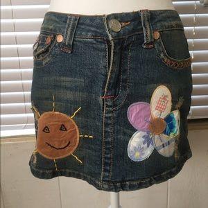 Joy Jeans, mini skirt