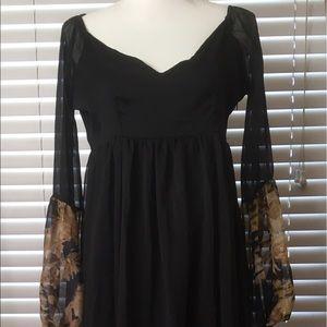 Lightweight, flowing hippy dress